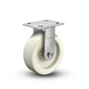 8 Inch Albion 05 Medium Heavy Duty Stainless Steel Rigid Caster - (05RW08201R)