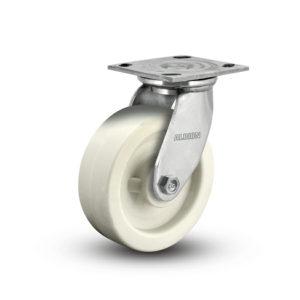 8 Inch Albion 05 Medium Heavy Duty Stainless Steel Swivel Caster - (05RW08201S)