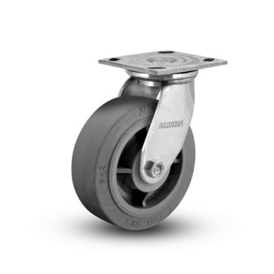 5 Inch Albion 05 Medium Heavy Duty Stainless Steel Swivel Caster - (05XS05201S)