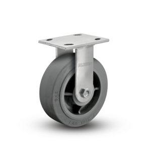 8 Inch Albion 05 Medium Heavy Duty Stainless Steel Rigid Caster - (05XS08201R)