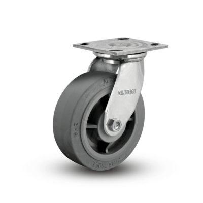 8 Inch Albion 05 Medium Heavy Duty Stainless Steel Swivel Caster - (05XS08201S)