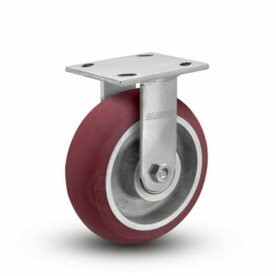 8 Inch Albion 110 Contender Kingpinless Rigid Caster - (110AX08228R)