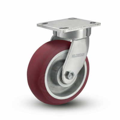 5 Inch Albion 110 Contender Kingpinless Swivel Caster - (110AX05228S)