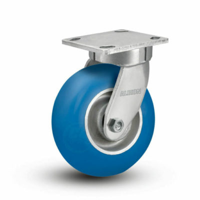 6 Inch Albion 110 Contender Kingpinless Swivel Caster - (110NP06228S)