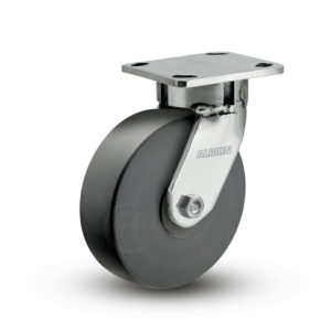 6 Inch Albion 120 Contender Kingpinless Stainless Swivel Caster - (120NX06201S)