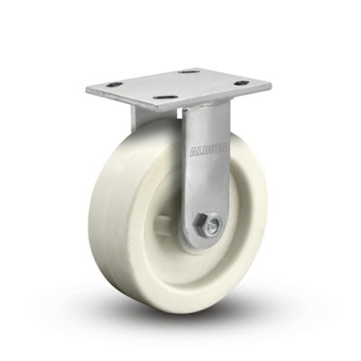 4 Inch Albion 120 Contender Kingpinless Stainless Rigid Caster - (120RW04201R)