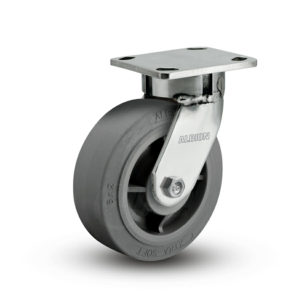 8 Inch Albion 120 Contender Kingpinless Stainless Swivel Caster - (120XS08201S-01)