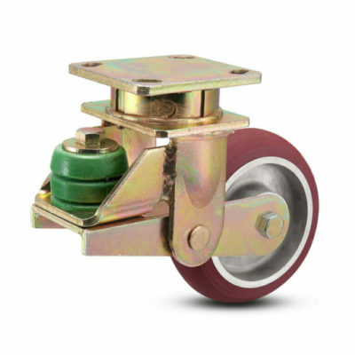 8 Inch Albion 141 Spring Load Kingpinless Swivel Caster - (141AX08228S)