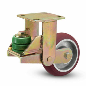 6 Inch Albion 141 Spring Load Kingpinless Rigid Caster - (141AX06228R)