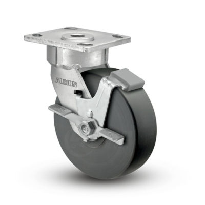 6 Inch Albion 18 Ergonomic Precision Swivel Caster - (18NX06228SFBC)
