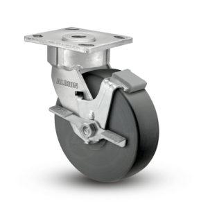 8 Inch Albion 18 Ergonomic Precision Swivel Caster - (18NX08228SFBC)