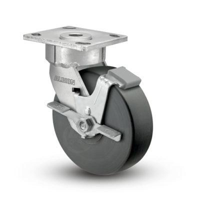 4 Inch Albion 18 Ergonomic Precision Swivel Caster - (18NX04228SFBC)