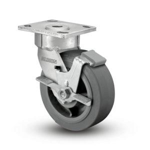 6 Inch Albion 18 Ergonomic Precision Swivel Caster - (18XS06228SFBC)