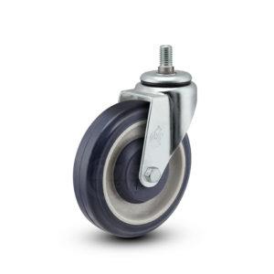 5 Inch Pemco PolyKat Swivel Caster - (77520EZ)