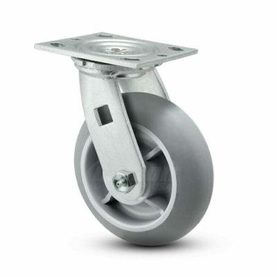 6 Inch Pemco E-line Swivel Caster - (ES6X2TPD)
