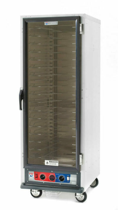 C5 1 Series Holding Cabinet, Full Height, Combination Module, Full Length Clear Door, Universal Wire Slides (0-41105-44591-4)