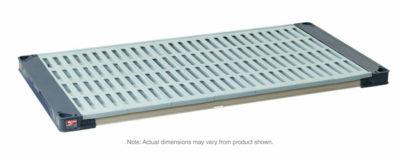 "MetroMax 4 Polymer Shelf with Grid Mat, 24"" x 48"" (0-41105-86404-3)"