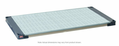 """MetroMax 4 Polymer Shelf with Solid Mat, 21"""" x 60"""" (0-41105-86393-0)"""