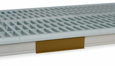 """MetroMax i Color Shelf Marker, Tan, 6"""" L x 1.5"""" H (0-41105-52202-8)"""