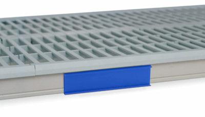 "MetroMax i Color Shelf Marker, Blue, 6"" L x 1.5"" H (0-41105-52190-8)"