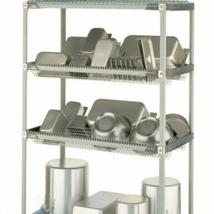 "MetroMax i Stationary Drying Rack, 24"" x 48"" x 75.5"" (0-41105-67470-3)"