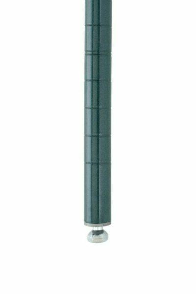 "Super Erecta SiteSelect Stationary Shelving Post, Metroseal 3 Epoxy, 54.4375"" H (0-41105-37650-8)"