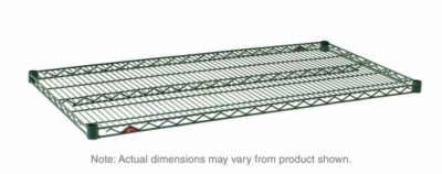 "Super Erecta Wire Shelf, Metroseal 3 Epoxy, 18"" x 36"" (0-41105-32093-8)"
