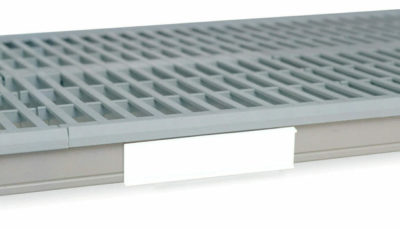 "MetroMax i Color Shelf Marker, White, 6"" L x 1.5"" H (0-41105-52205-9)"