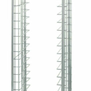 """End-Load Wire Bun Pan Rack, 3"""" Slide Spacing (0-41105-30036-7)"""