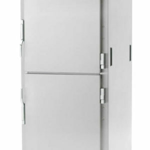 C5 9 Series Reach-In Heated Holding Cabinet, Full Height, Stainless Steel, Dutch Solid Doors, Universal Wire Slides (0-41105-46814-2)