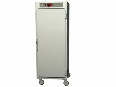 C5 8 Series Reach-In Heated Holding Cabinet, Full Height, Stainless Steel, Dutch Solid Doors, Universal Wire Slides (0-41105-46446-5)