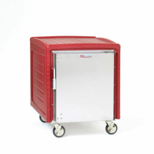 C5 4N Series Non-Powered Transport Cabinet with Insulation Armour Plus, 1/2 Height, Full Length Solid Door, Universal Wire Slides (0-41105-86882-9)