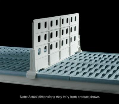 """MetroMax i Standard Duty Shelf Dividers for open grid shelves, 24"""" L x 8"""" H (0-41105-65687-7)"""