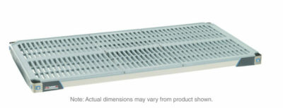 "MetroMax i Polymer Shelf with Grid Mat, 24"" x 48"" (0-41105-65588-7)"