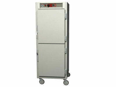 C5 6 Series Reach-In Heated Holding Cabinet, Full Height, Aluminum, Dutch Solid Doors, Universal Wire Slides (0-41105-46003-0)
