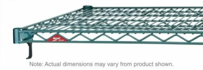 "Super Adjustable Super Erecta Wire Shelf, Metroseal 3 Epoxy, 21"" x 36"" (0-41105-41723-2)"