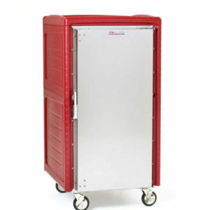 C5 4N Series Non-Powered Transport Cabinet with Insulation Armour Plus, 5/6 Height, Full Length Solid Door, Universal Wire Slides (0-41105-86883-6)