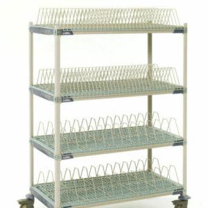 "MetroMax i Mobile Drying Rack, 26"" x 50"" x 68"" (0-41105-86467-8)"