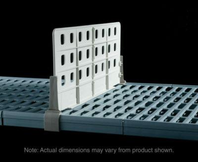 "MetroMax Q Standard Duty Shelf Dividers for open grid shelves, 18"" L x 8"" H (0-41105-65291-6)"