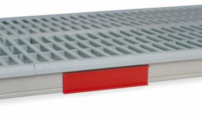 "MetroMax i Color Shelf Marker, Red, 6"" L x 1.5"" H (0-41105-52199-1)"