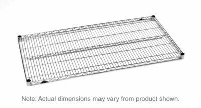 "Super Erecta Wire Shelf, Chrome, 18"" x 48"" (0-41105-00086-1)"