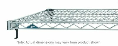 "Super Adjustable Super Erecta Wire Shelf, Chrome, 21"" x 36"" (0-41105-41722-5)"