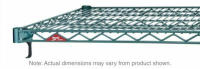 "Super Adjustable Super Erecta Wire Shelf, Metroseal 3 Epoxy, 24"" x 48"" (0-41105-41814-7)"
