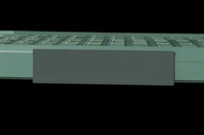 "MetroMax Q Color Shelf Marker, Gray, 6"" L x 1.5"" H (0-41105-52194-6)"