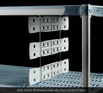 "Metro Shelf-to-Shelf Dividers for open grid shelves, 18"" L x 24"" H (0-41105-64779-0)"
