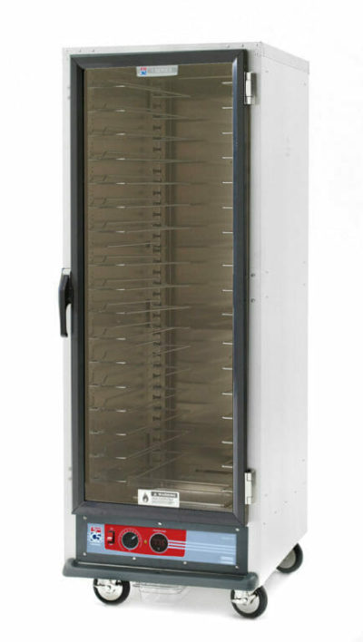 C5 1 Series Holding Cabinet, Full Height, Heated Holding Module, Full Length Clear Door, Universal Wire Slides (0-41105-44605-8)