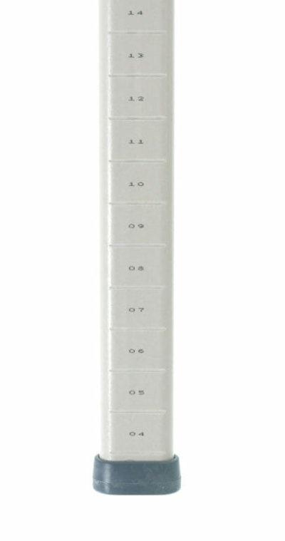 "MetroMax Polymer Mobile Shelving Post, 53.1875"" H (0-41105-65641-9)"