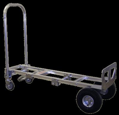 "Senior convertible loop handle and 10"" pneumatic wheels"