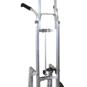 """Double grip, curved back, with mini keg hook with 10"""" pneumatic wheels"""