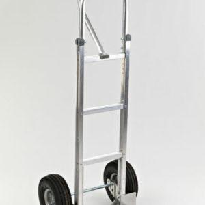 """Straight loop, vertical grip with 10"""" pnuematic wheels"""
